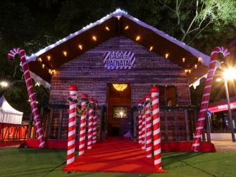 Casa do Pai Natal - Sweet Wood Outdoor