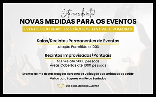 Novas Medidas Eventos Culturais (outubro 2021)