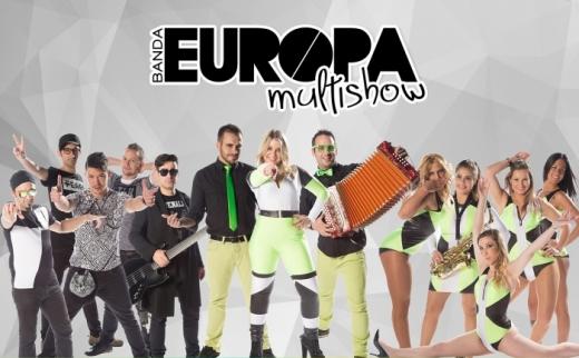 Tour 2015 da Banda Europa Multishow com Produção Artística da Eventuais